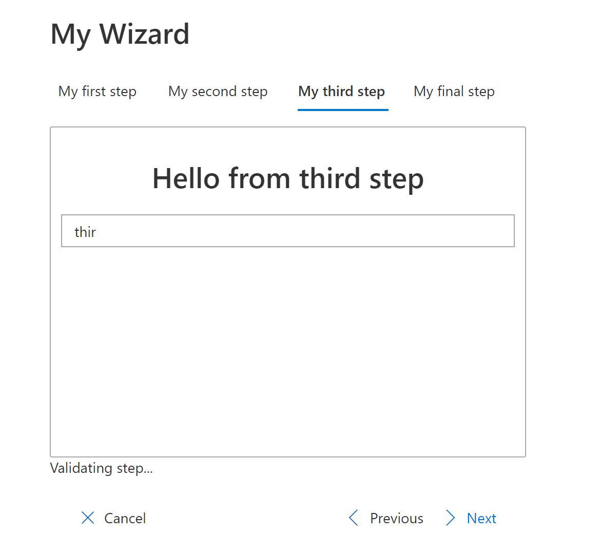 Build a reusable Wizard component for your SPFx solutions using React and Office UI Fabric