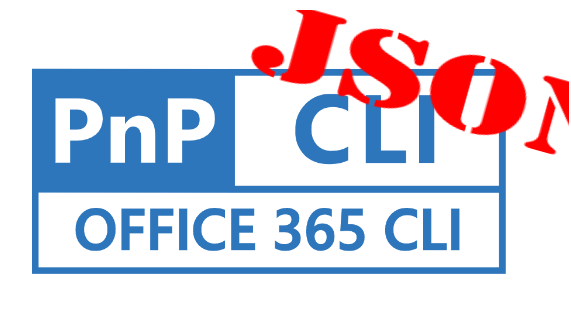 Working with Office365 CLI and JSON parameters